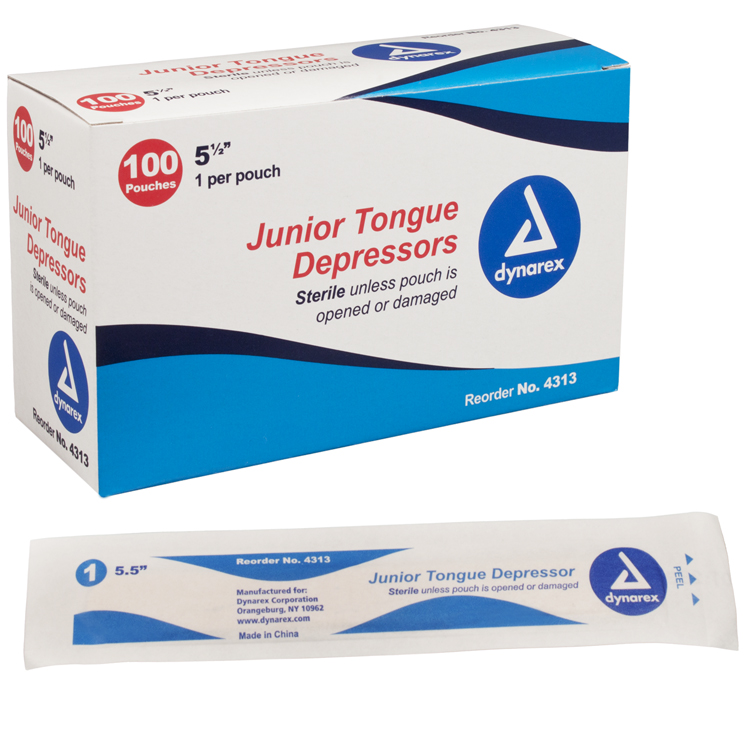Tongue Depressors: Box of 100 image