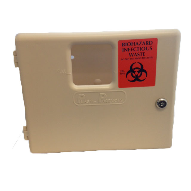 Locking Wall Mounted Sharps Container image