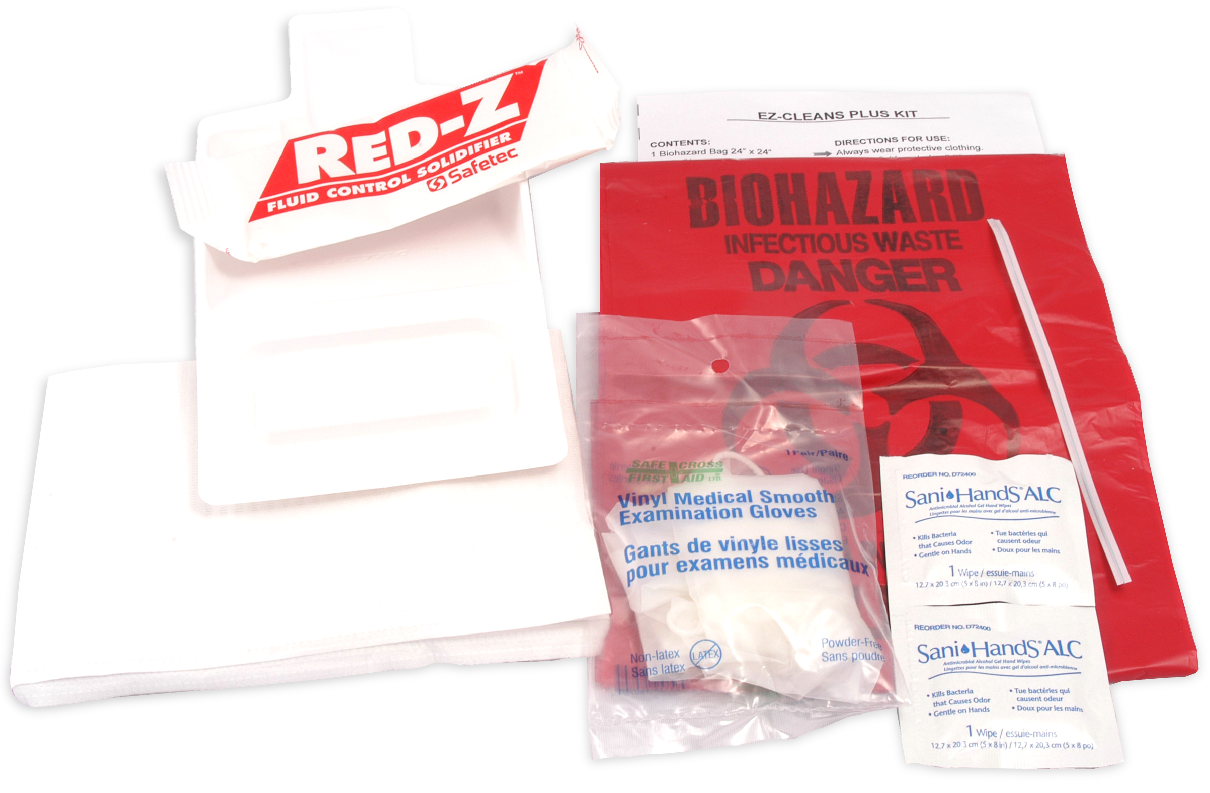 Biohazard Clean-Up Spill Kit image