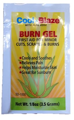 Burn Gel 3.5g (Bag of 6) image