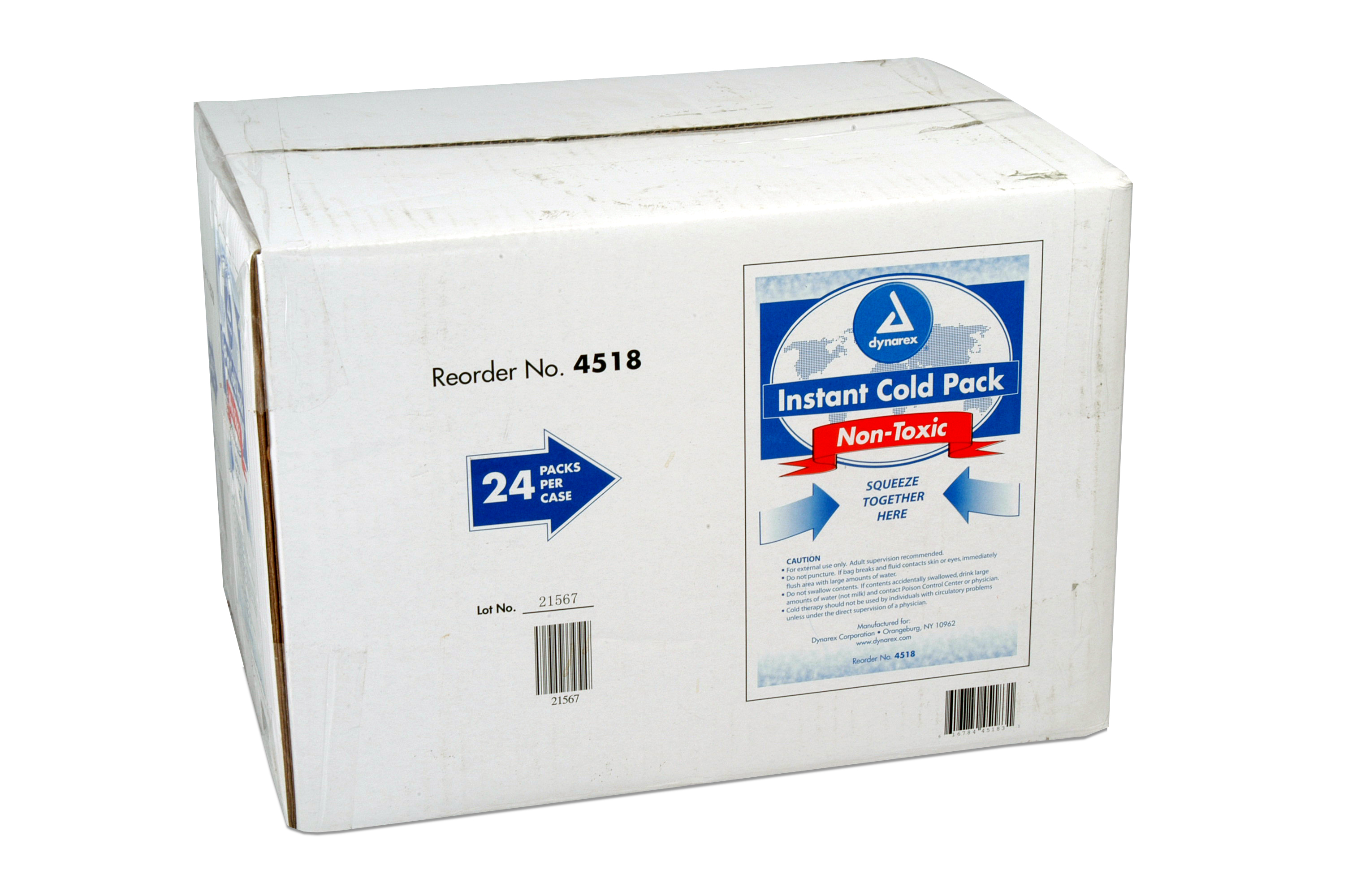 Instant Ice Pack 5x9 Non Toxic: Case of 24 image