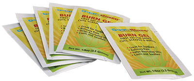Cool Blaze Burn Gel 0.9g Packets: Bag of 6 image