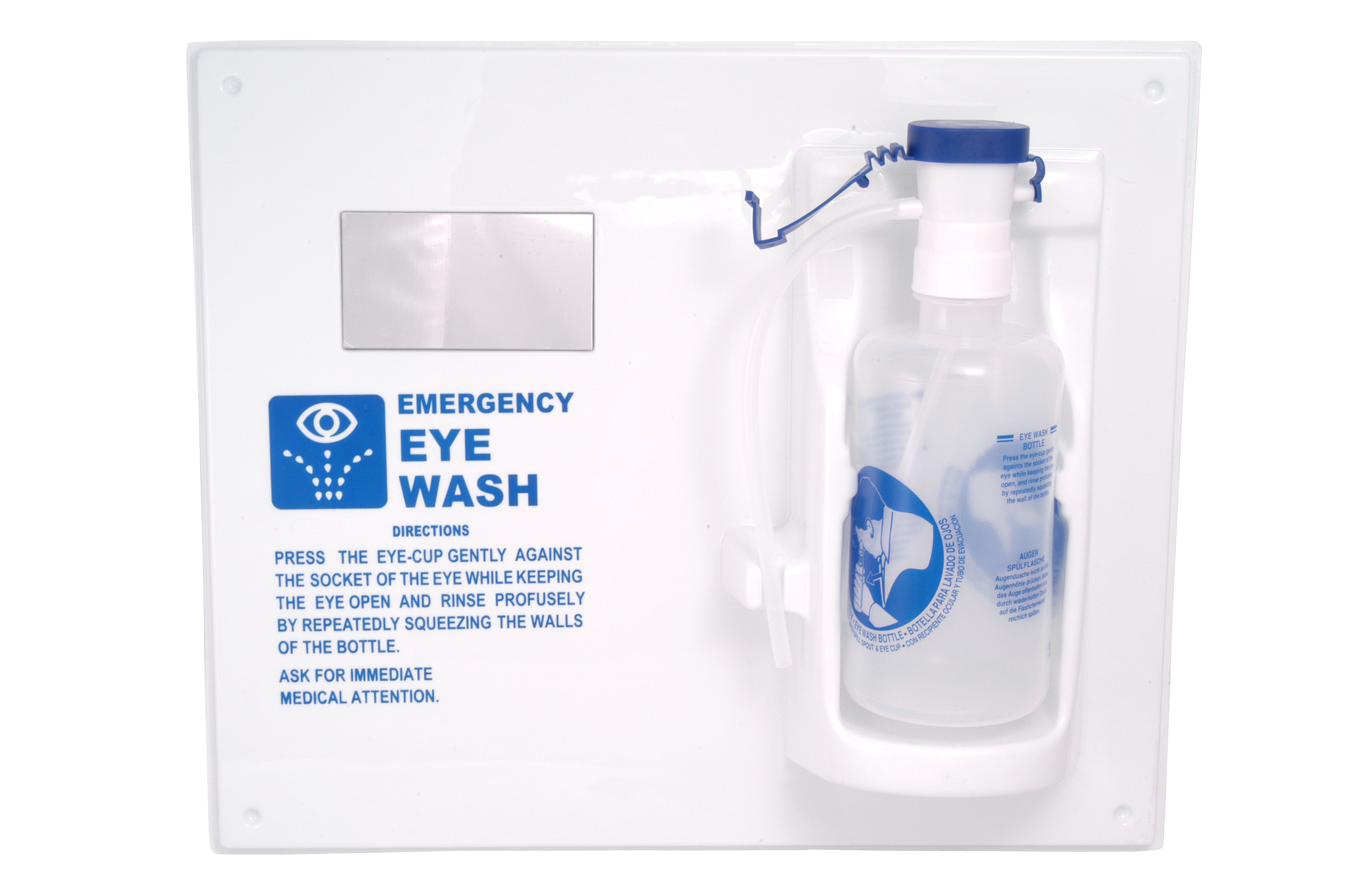 Eye Wash Station with Bottle  image