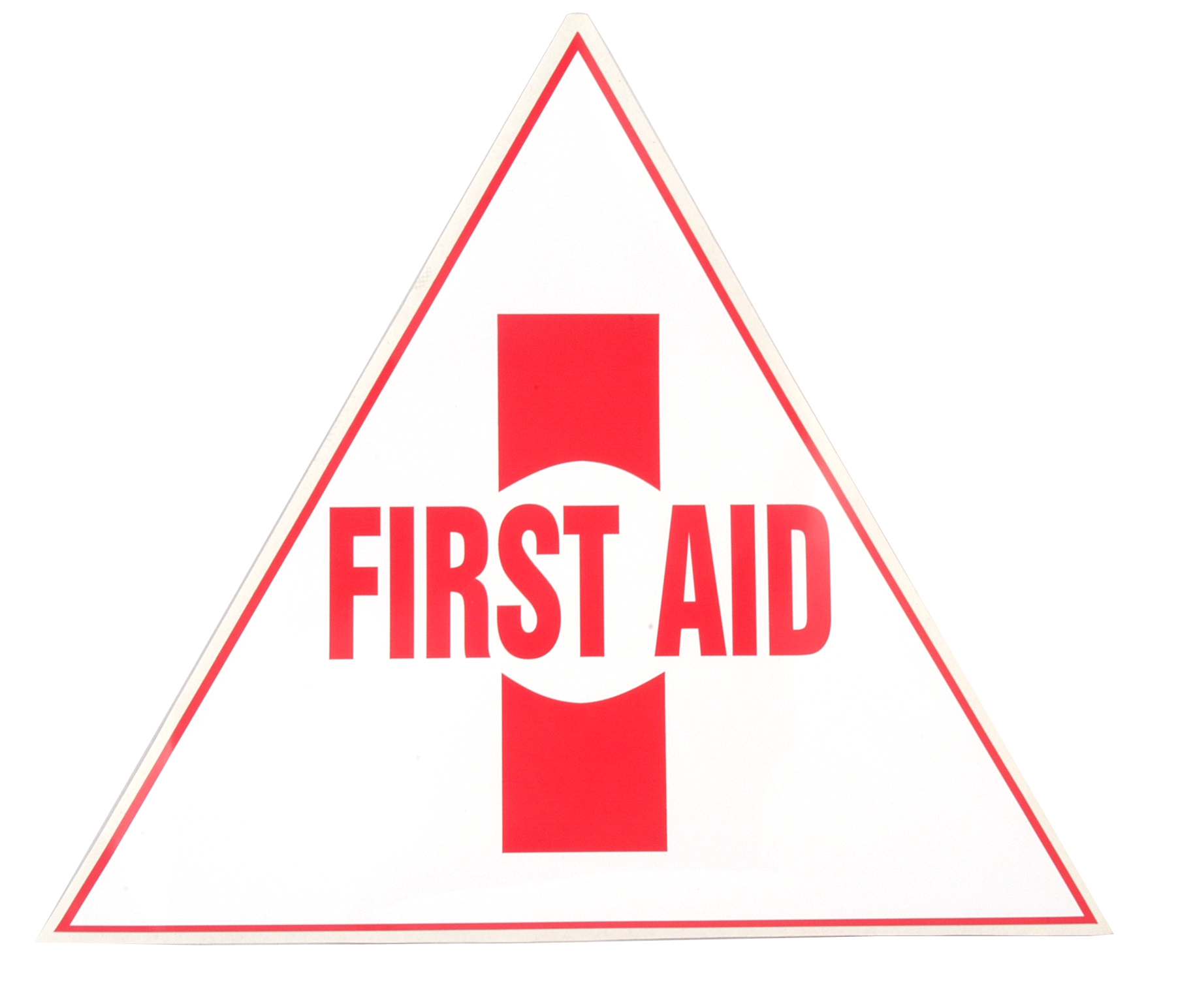 Large First-Aid Sticker image
