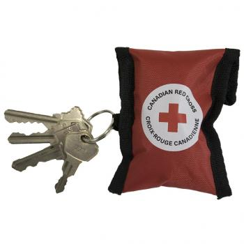 Canadian Red Cross CPR Keychain - Red image