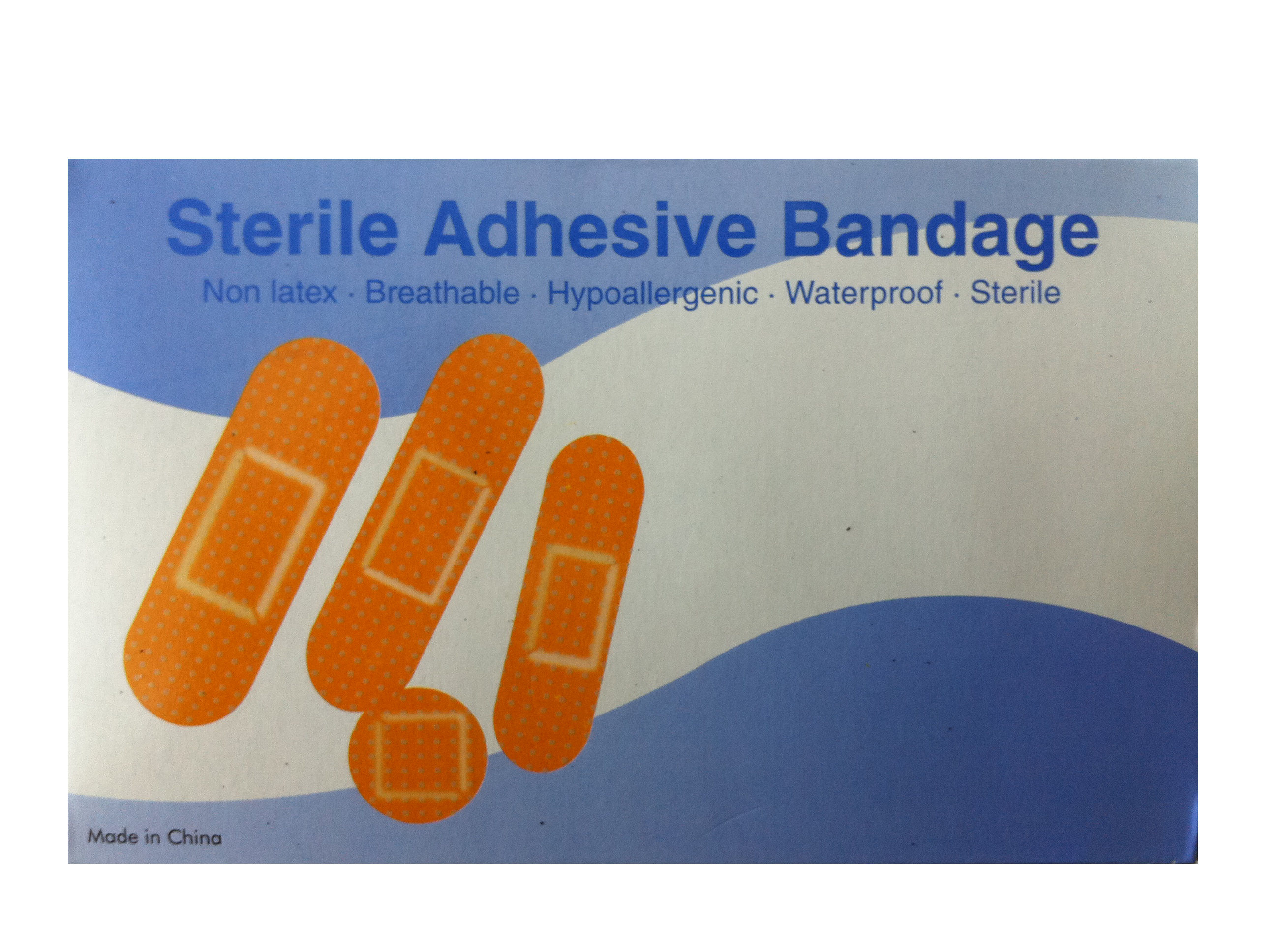 1x3 Plastic Strip Bandage: Box of 100 image