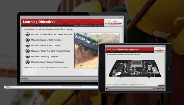 Advanced Driving 4X4 Off Road Online Training