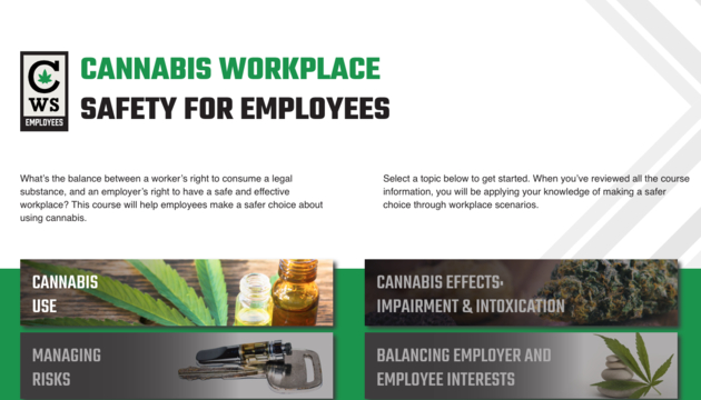 Cannabis Workplace Safety for Employees